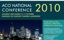 ACO Conference Brochure